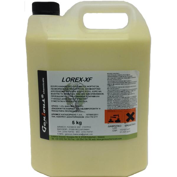 Genious Chemicals Lorex-XF Truck Cleaner 5KG LOREX-XF 5KG 0130350009