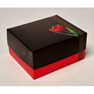 Packoflex Paper Patisserie Box Tulip No4 000881 0150790001