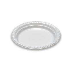 Dimexsa Πλαστικό Πιάτο Ειδικού Τύπου 22CM 25ΤΕΜ 0520002-8 5202501104668
