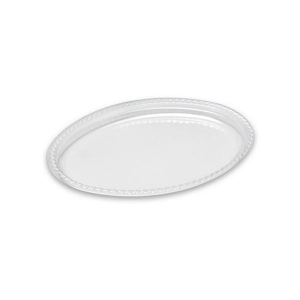 Dimexsa Πλαστικό Πιάτο Ειδικού Τύπου Οβάλ 25ΤΕΜ 0520008-8 5202501104682