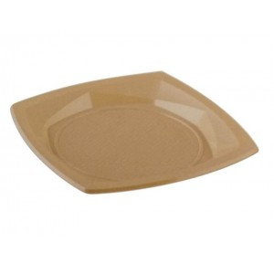 Dimexsa Plastic Plate Square Star 18CM 24PCS ΠΙΑΤΟ STAR 18CM 5202501917886