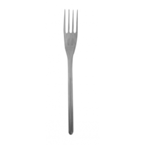 JDS Plastic Fork French Clear 100Pcs 01-01-154 5205408004512