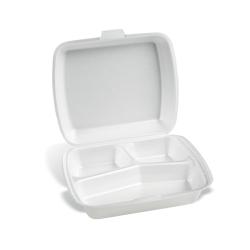 Dimexsa Food Container EPS 3 Cavity 50Pcs 0510003 5202501912720