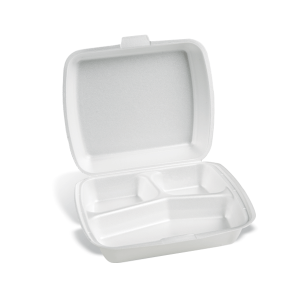 Dimexsa Food Container EPS 3 Cavity 50Pcs 0510003 5202501912720