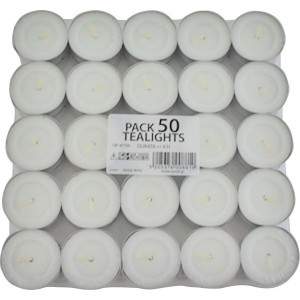 ΜΕΛΚΑ Tealights 50PCS 0888 5205376008819