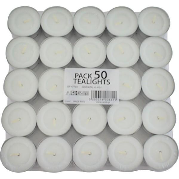 ΜΕΛΚΑ Tealights 50PCS 0888 5205376008819