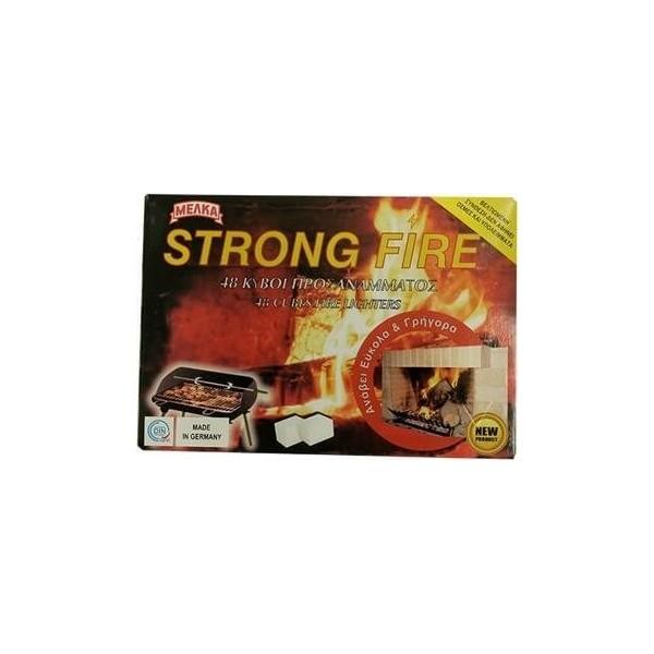 ΜΕΛΚΑ Cubes Fire Lighters 48Pcs 1056 4007467000105