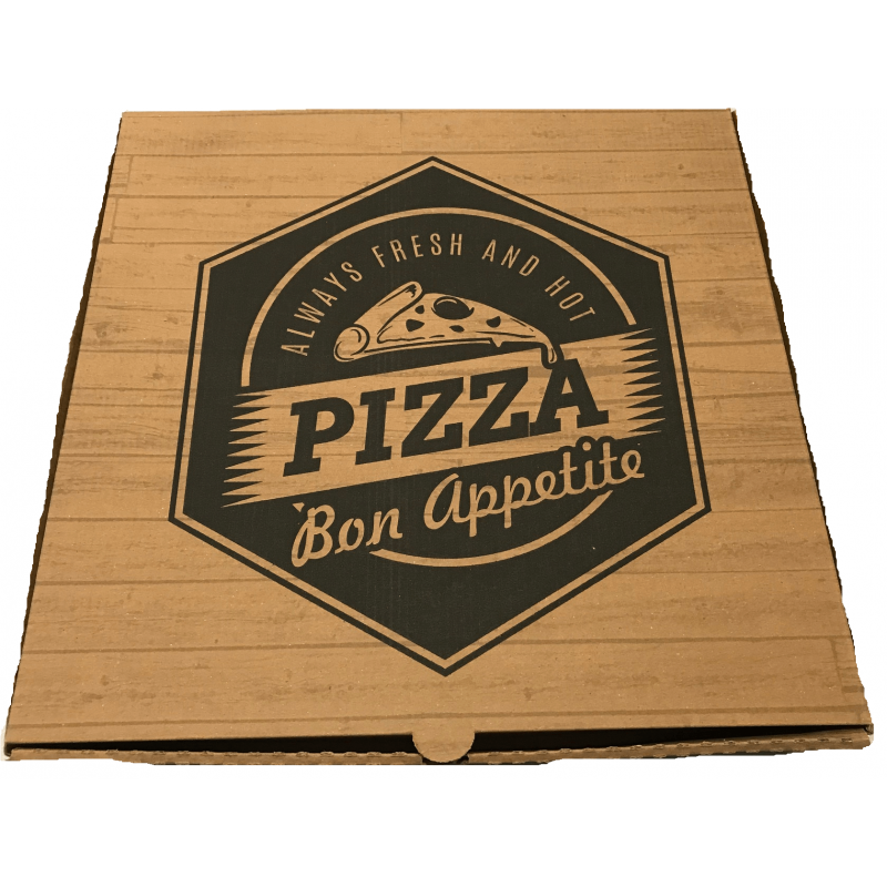 iprint Pizza Box Welle Kraft No26  000931-26 0150800001
