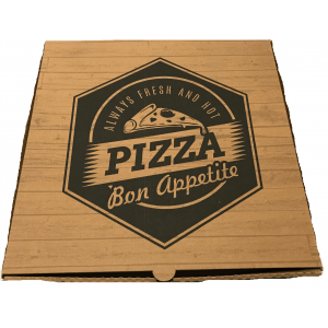 iprint Pizza Box Welle Kraft No40 000931-40 0150800006