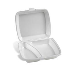 Dimexsa Food Container EPS 2 Cavity 50Pcs 0510002 0150530002