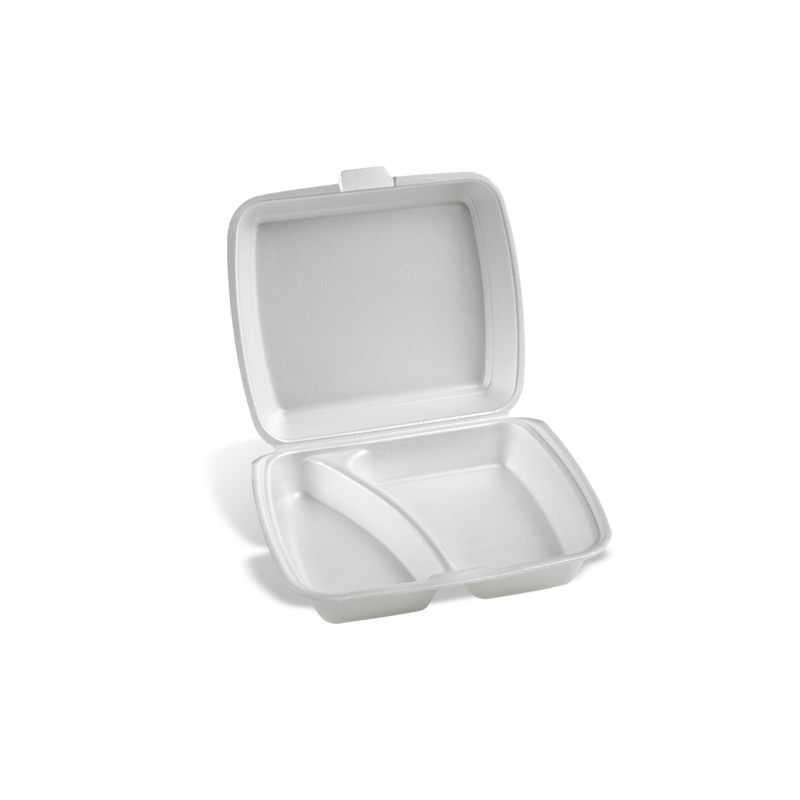 Dimexsa Food Container EPS 2 Cavity 50Pcs 0510002 0150530002