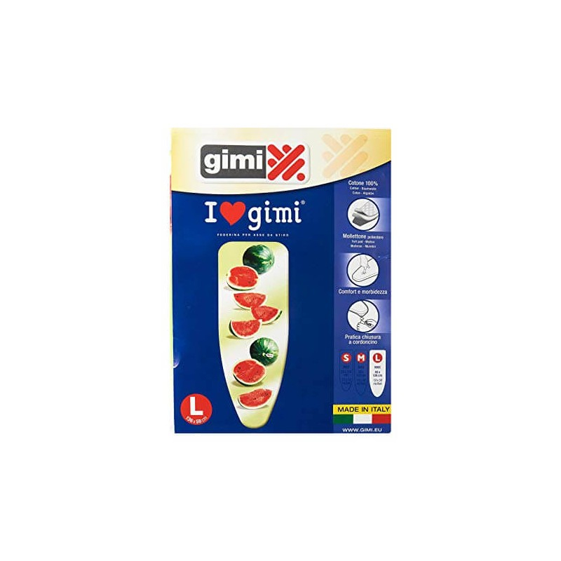 gimi Ironing Board Cover Large 000400061 8001244006690