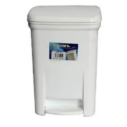 OEM Viomes Plastic Rubbish Bin With Pedal 20LT White 14112 ΛΕΥΚΟ 5203493014461