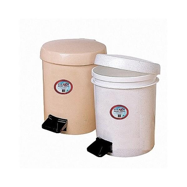 ΚΥΚΛΩΨ Waste Basket With Foot Pedal No559 Beige 003301631 5202707000498