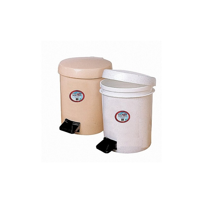 ΚΥΚΛΩΨ Waste Basket With Foot Pedal No559 Beige 003301631 5202707000498