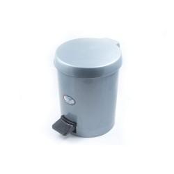 ΚΥΚΛΩΨ Waste Basket With Foot Pedal No559 Grey 003301649 5202707001426