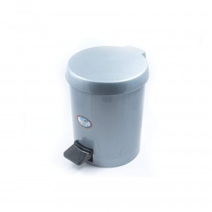ΚΥΚΛΩΨ Waste Basket With Foot Pedal No559 Grey 003301649 5202707001426
