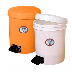 ΚΥΚΛΩΨ Waste Basket With Foot Pedal No559 White 00330277 5202707001716