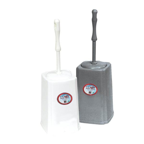 ΚΥΚΛΩΨ Toilet Brush Plastic No30 Grey 004101134 5202707987683