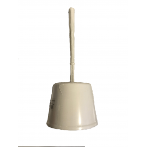 ΚΥΚΛΩΨ Toilet Brush Plastic No20 White 00410035 ΛΕΥΚΟ 5202707000917