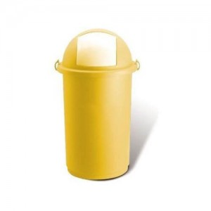 OEM Plastic Rubbish Bin Push With Clips 50LT Yellow 23-25-412 8002942018718