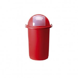 OEM Plastic Rubbish Bin Push With Clips 50LT Red 23-25-410 8002942011047