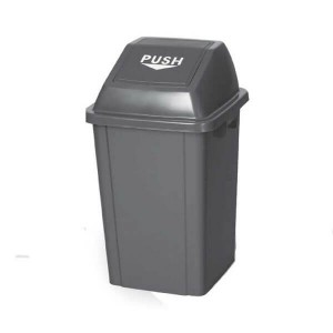 OEM Rubbish Bin Push 100Lt Grey 23-65-015 0161010015