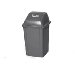 OEM Rubbish Bin Push 60Lt Gunmetal 23-67-000 0161010016
