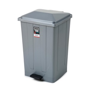 OEM Rubbish Bin With Pedal 85Lt Grey 99-01-028 8690462006430