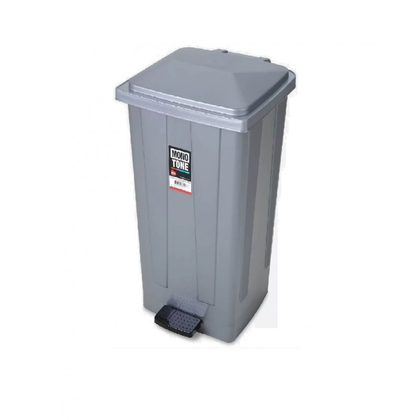OEM Rubbish Bin With Pedal 50Lt Grey 99-01-029 8690462006423