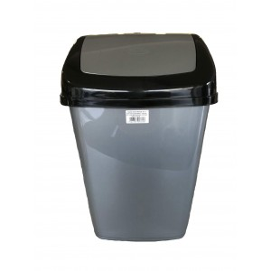 ΚΥΚΛΩΨ Bin With Swing Lid Grey 35Lt 003302221 5202707007626