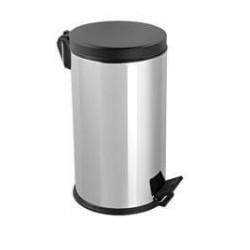 Mopatex Wc Waste Bin Inox Black Lid 8LT 1603 0161020002