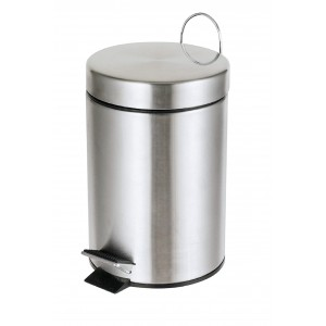 delta cleaning Wc Waste Bin Inox 12LT KA12Σ 0161020005