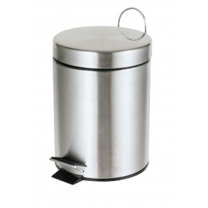 delta cleaning Wc Waste Bin Inox 20LT ΚΑ20Σ 0161020006