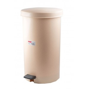 ΚΥΚΛΩΨ Waste Basket For Kitchen 35Lt Beige 003301647 5202707988635