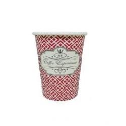 Dimexsa Χάρτινο Ποτήρι 4ΟΖ Κόκκινο Coffee Experience 50ΤΕΜ 0530038 ΚΟΚΚΙΝΟ 0150210027