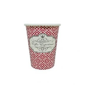 Dimexsa Paper Cups 4Oz Red Coffee Exprerience 50PCS 0530038 ΚΟΚΚΙΝΟ 0150210027