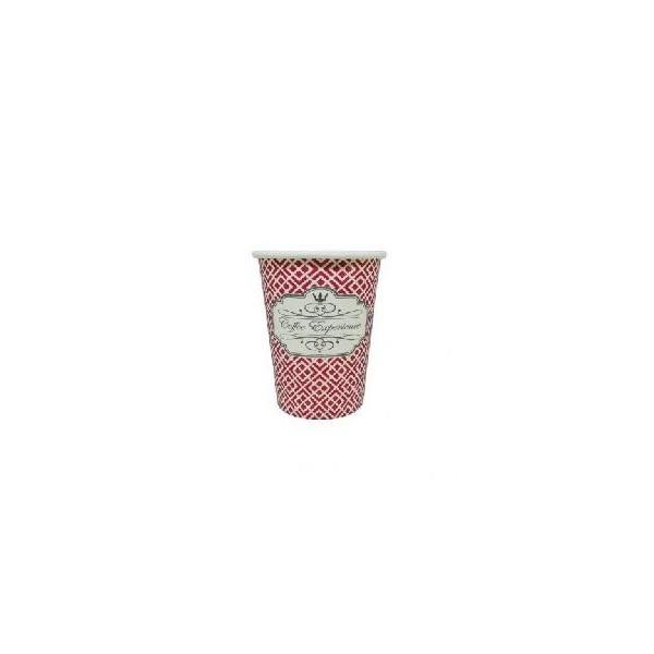 Dimexsa Paper Cups 4Oz Red Coffee Exprerience 50PCS 0530038 ΚΟΚΚΙΝΟ 0150210027
