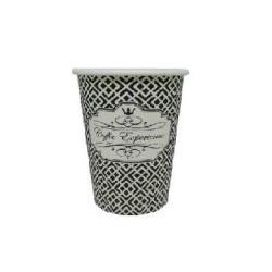 Dimexsa Paper Cups 4Oz Black Coffee Exprerience 50PCS 0530038 ΜΑΥΡΟ 0150210028