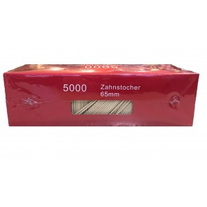 JDS Club Toothpicks 65MM 5000PCS 14-01-043 5205408002846