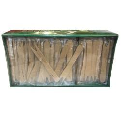 JDS Πηρούνι Ξύλινο Συσκευασμένο 500ΤΕΜ 01-01-193 5205408004499