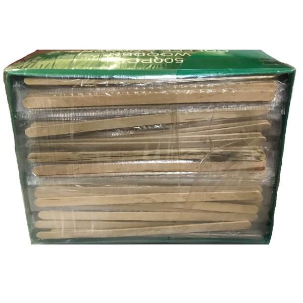 JDS Wooden Stirrer Wrapped Sinlgy 500PCS 01-01-194 5205408004505