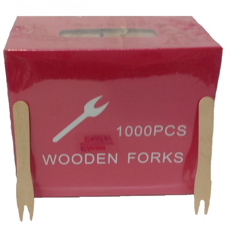 JDS Wooden Fork 1000PCS 01-01-191 5205408000170