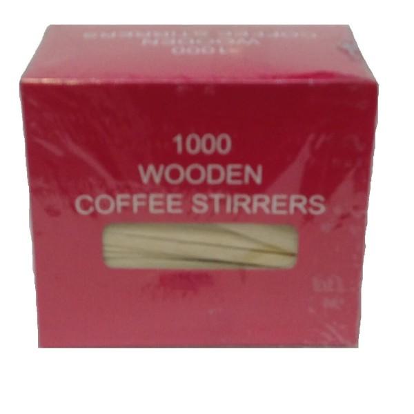 JDS Wooden Stirrer 12CM 1000PCS 01-01-006 5205408002631