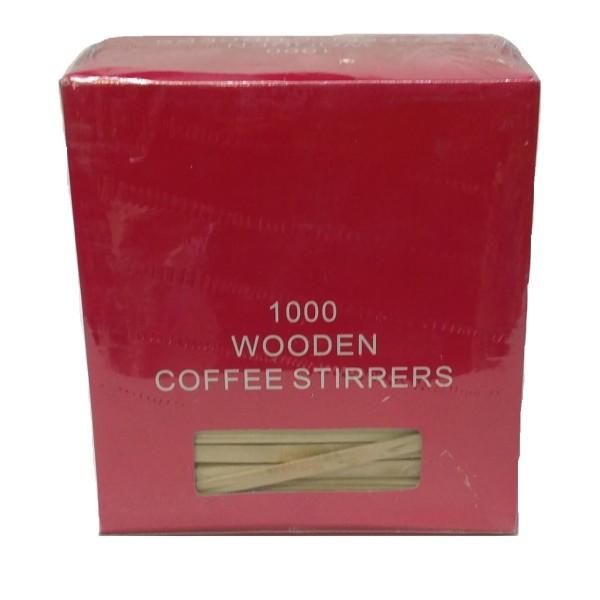JDS Wooden Stirrer 16CM 1000PCS 01-01-192 5205408002624