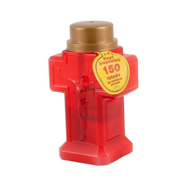 ΜΕΛΚΑ Κερί Σταυρός Ηλεκτρικός 150 Ημερών 0432 5205376019099