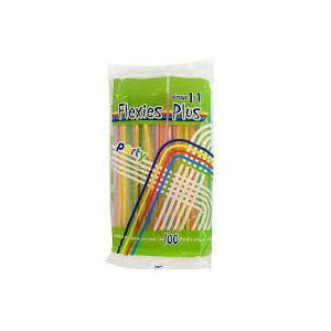 OEM Bended Straws Multicolor 1/1 1000PCS 0677 5206492000459