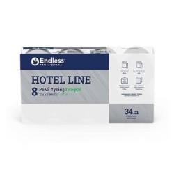 Endless 8 Ρολά Υγείας Hotel Line Gofre 1100110808 5202995009869