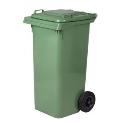 OEM Waste Bin Heavy Duty With Wheels 120Lt IORB12O 0161010032