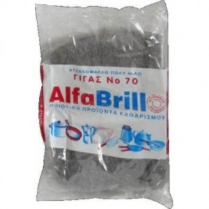 ΜΕΛΚΑ Scouring Wire Wool Brillo No70 032 5200108900041